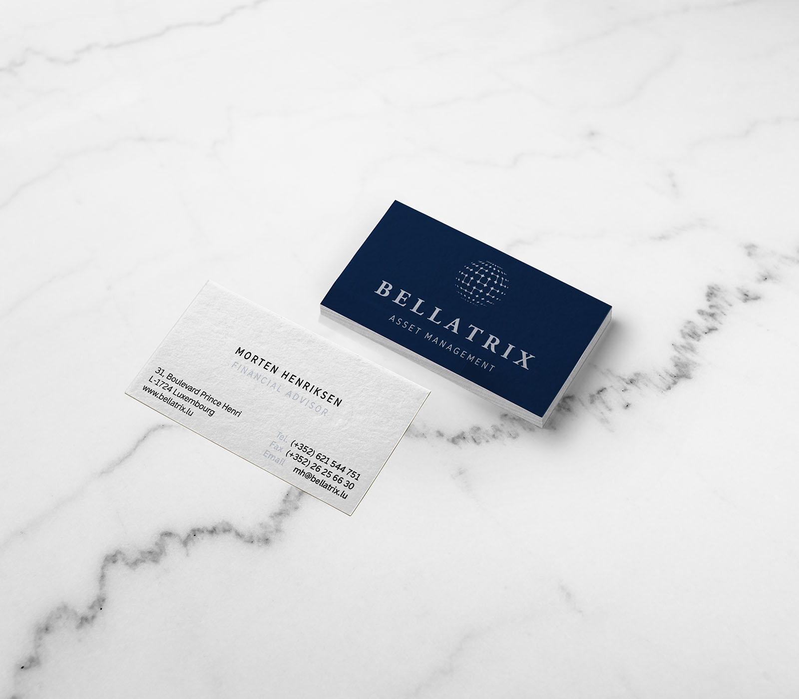 Bellatrix - business cards