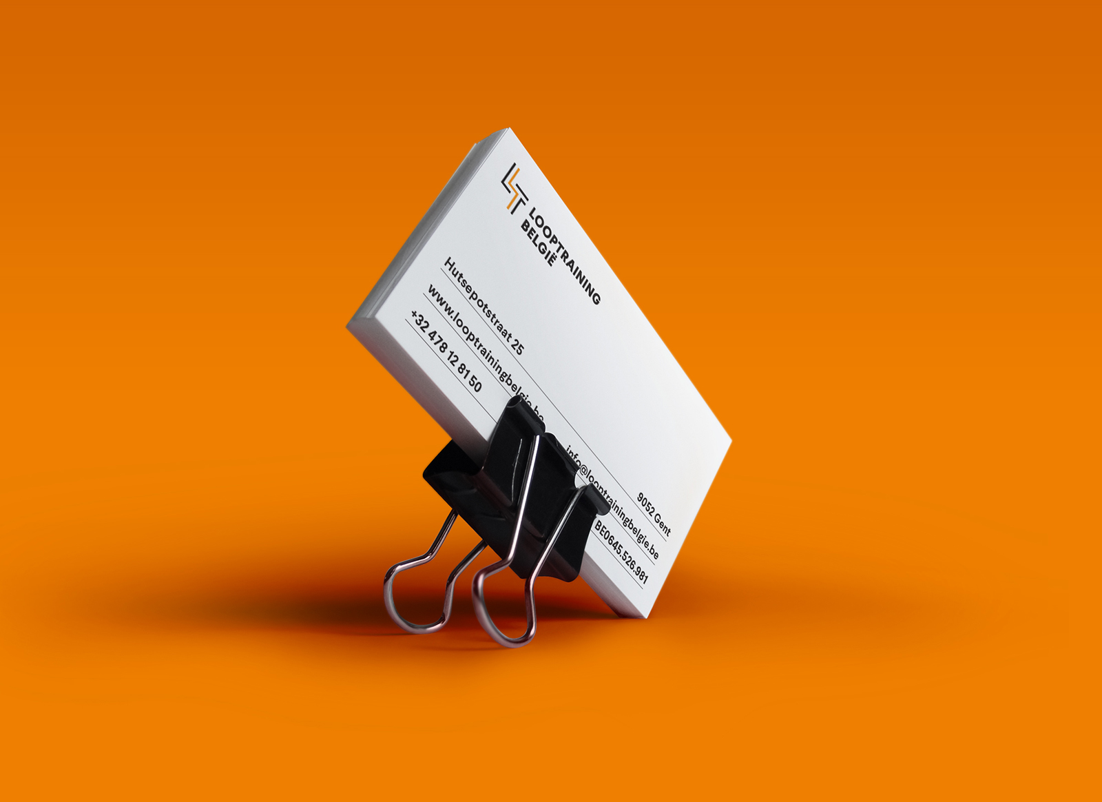 Looptraining - Business card