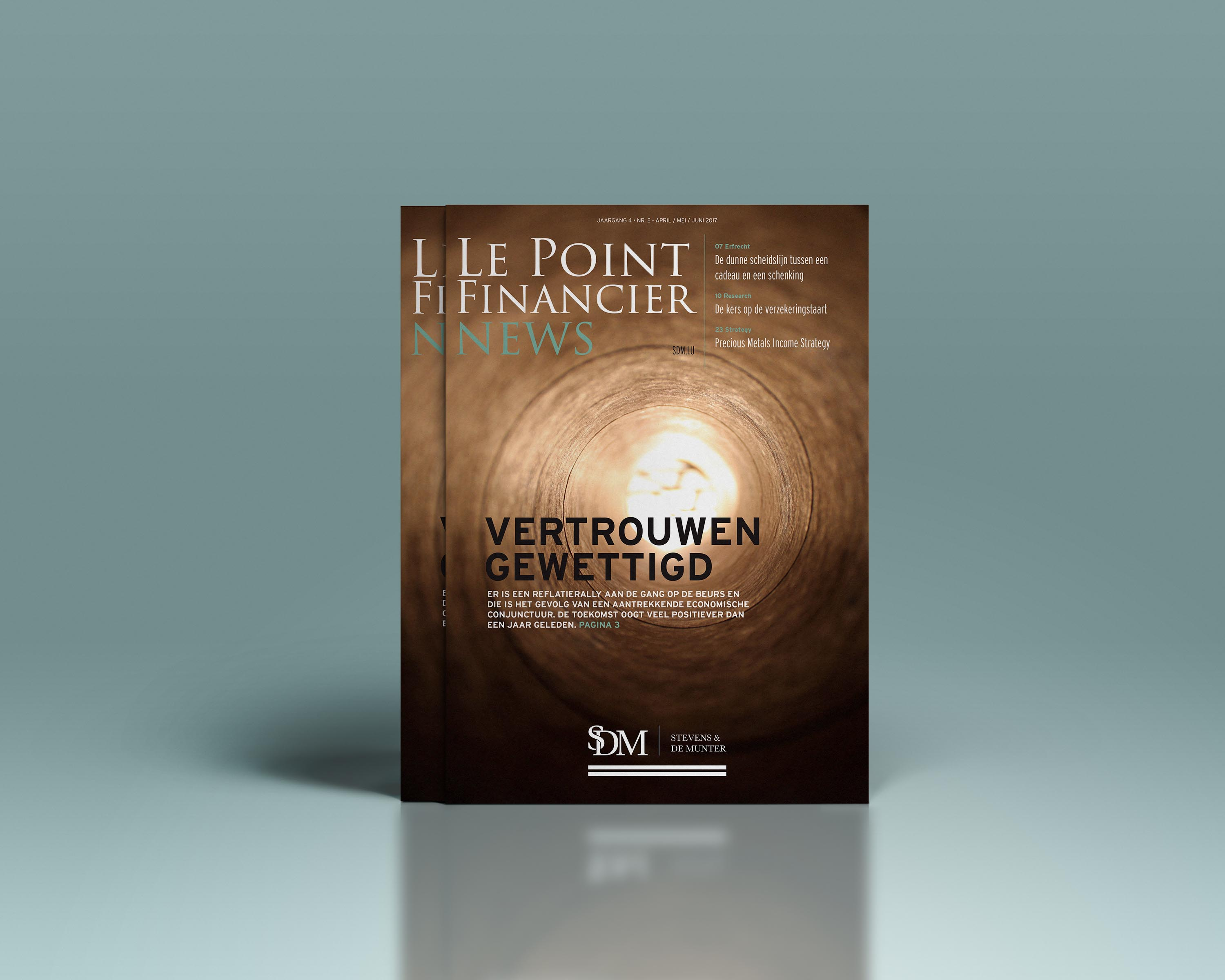 Stevens & De Munter - financieel magazine