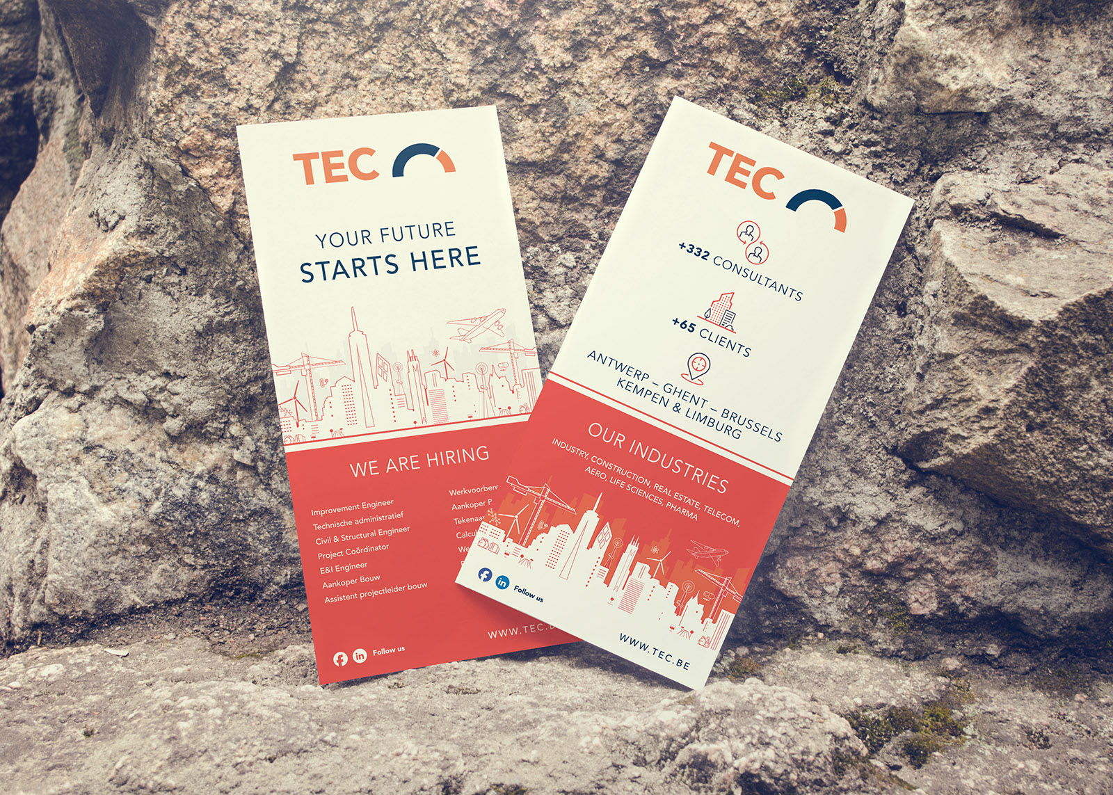 tec banner and flyer