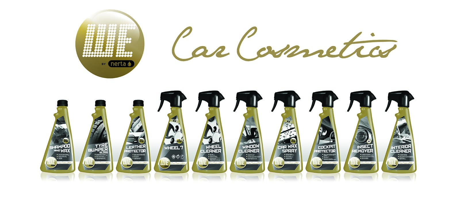 Product development for Nerta - Car Cleaning Products