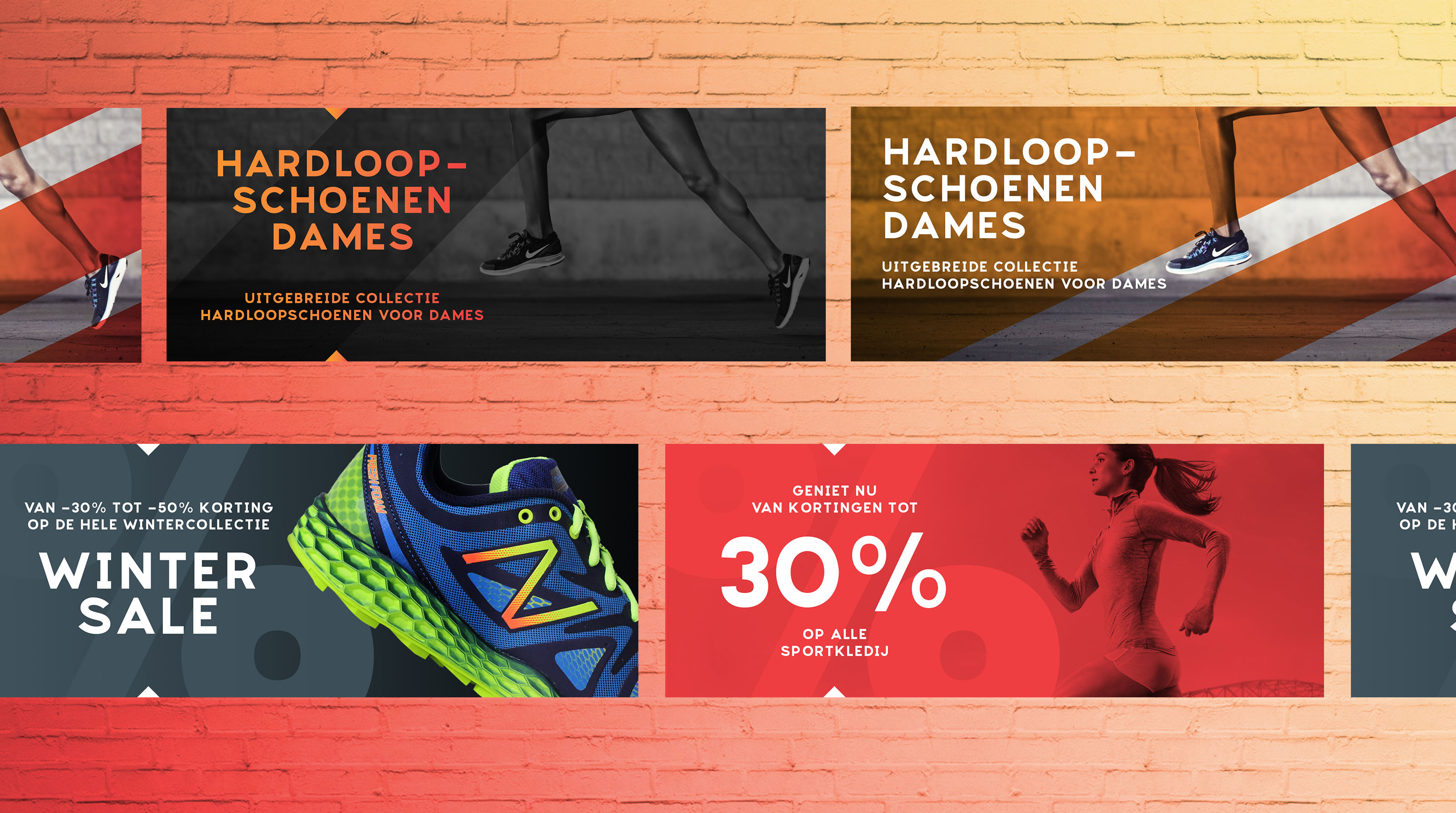 runners - shop banners