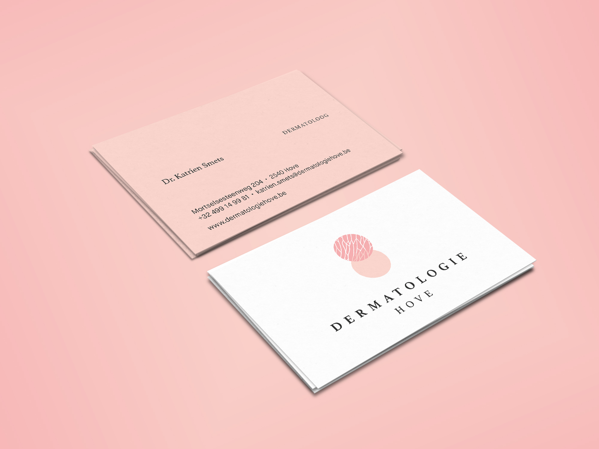 Dermatologie Hove business cards